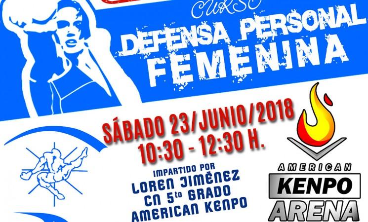 Curso de defensa personal femenina en Mengíbar, el próximo sábado 23 de junio