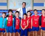 Baloncestistas de las Escuelas Municipales de Mengíbar participan en el Torneo de las Flores