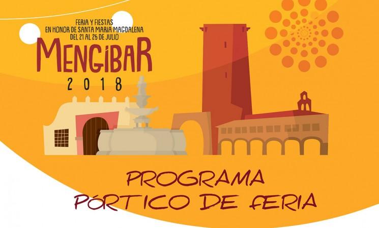 Programa del Pórtico de la Feria de Mengíbar 2018