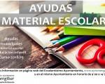 El Ayuntamiento de Mengíbar abre el plazo de solicitud de ayudas para material escolar