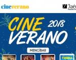 El cine de verano regresa a Mengíbar del 16 al 22 de agosto de 2018
