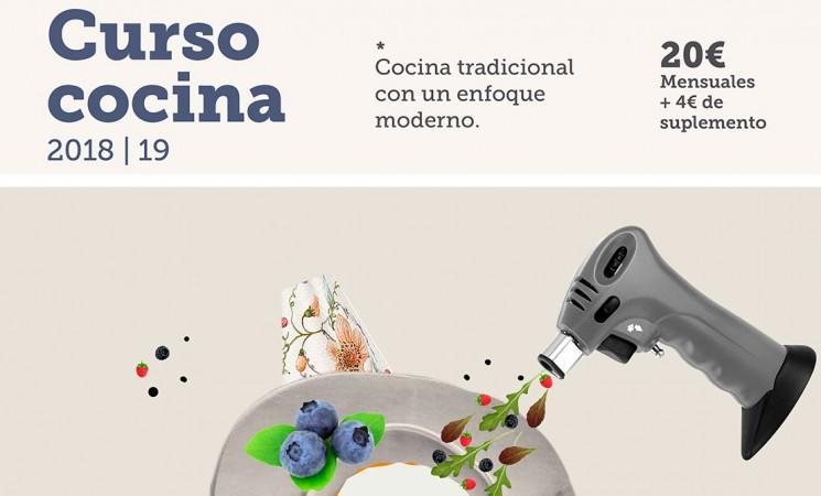 Nuevo Curso de Cocina en Mengíbar a partir del mes de octubre