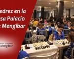 La Casa Palacio de Mengíbar acoge este domingo una jornada de la Liga Provincial de Ajedrez