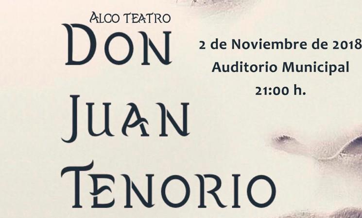 Teatro 'Don Juan Tenorio', el próximo viernes en el Noviembre Cultural - Mengíbar 2018