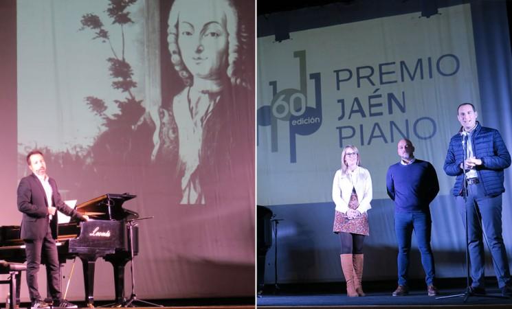 Estudiantes del instituto de Mengíbar asisten a un concierto didáctico del Alberto de Paz por el 60 aniversario del Premio Jaén de Piano