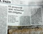 Mengíbar e Iliturgi, en la contraportada del diario 'El País'