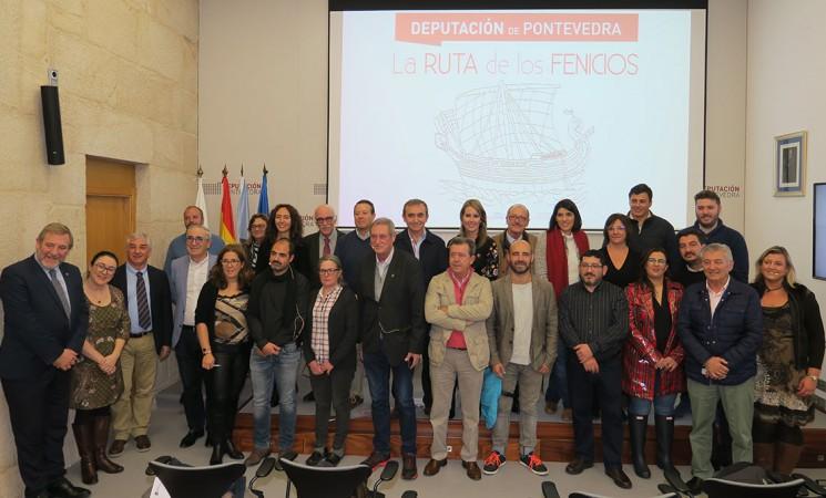 El Ayuntamiento de Mengíbar participa en la III Asamblea de la Red Española de La Ruta de los Fenicios que se celebra en Pontevedra