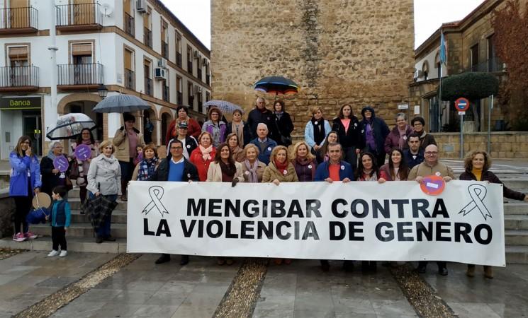 Mengíbar celebra del Día Mundial contra la Violencia de Género