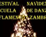 Festival navideño de la Escuela de Danza y Flamenco Zambra, de Mengíbar, el domingo 23 de diciembre de 2018