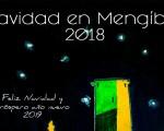 Cartel anunciador de 'Mengíbar en Navidad' 2018