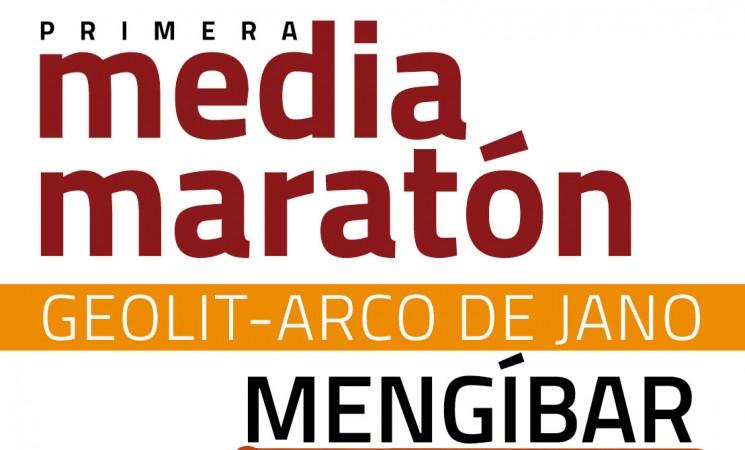 Recorrido de la I Media Maratón de Mengíbar 'Geolit-Arco de Jano'