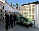 El Ayuntamiento de Mengíbar adquiere un elevador portaféretros para el Cementerio Municipal
