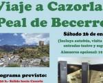 Viaje cultural a Peal de Becerro-Cazorla el próximo 26 de enero con el Ayuntamiento de Mengíbar, la Diputación de Jaén y Prodecan (plazas limitadas)