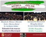 Certamen de bandas de música de Mengíbar por el Día de Andalucía, este sábado