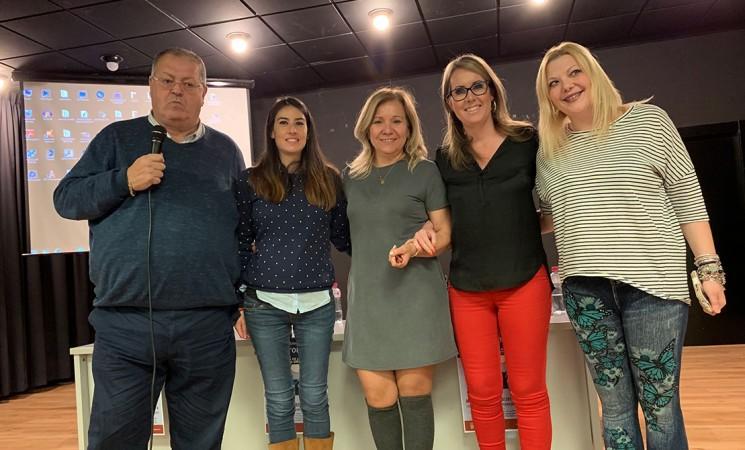 Puesta de largo de la Asociación Mengibareña de Fibromialgia