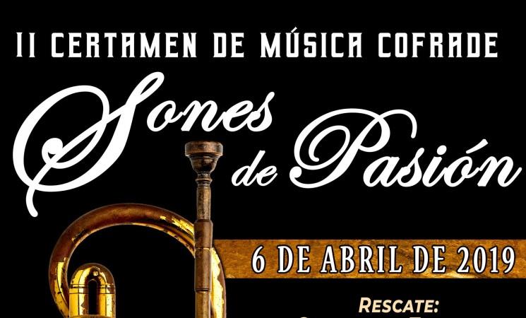 II Certamen de Música Cofrade 'Sones de Pasión', el próximo 6 de abril, en Mengíbar