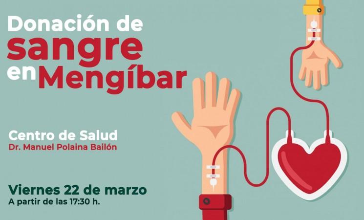 Donación de sangre en el Centro de Salud de Mengíbar, este viernes 22 de marzo de 2019