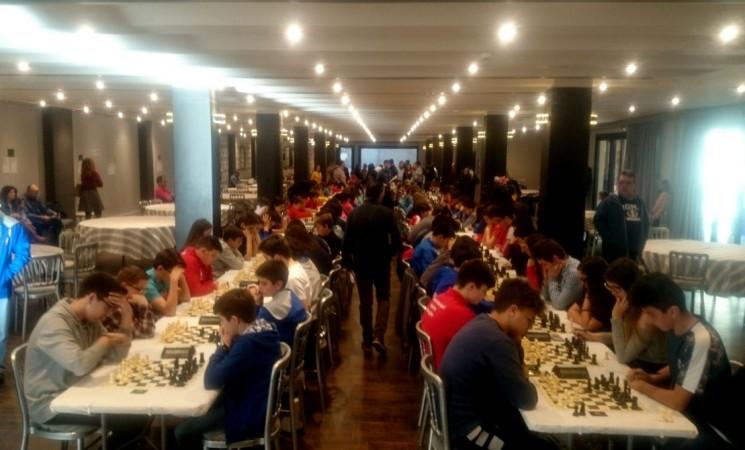 La Casa Palacio de Mengíbar acoge el Campeonato Provincial de Ajedrez de Menores de Jaén