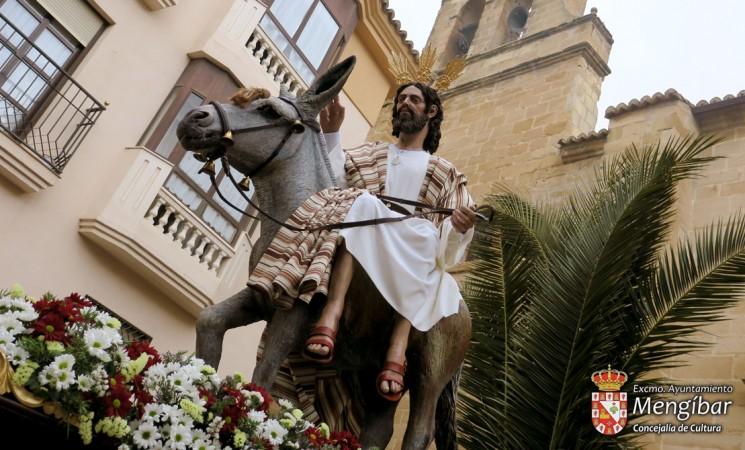 Semana Santa - Mengíbar 2019 / Domingo de Ramos: Itinerario e información de la procesión