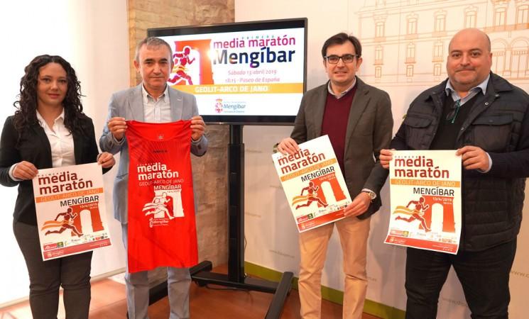 Todo preparado para la primera Media Maratón de Mengíbar 'Geolit-Arco de Jano'