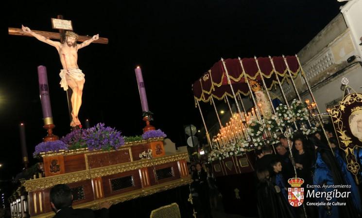 Semana Santa - Mengíbar 2019 / Miércoles Santo: Itinerario e información de la procesión del Señor de las Lluvias y la Virgen de la Amargura