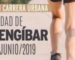 Entrega de dorsales para la Carrera Urbana Ciudad de Mengíbar 2019, este viernes en el Edificio de Usos Múltiples