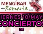 Romería de Mengíbar 2019 - Conciertos gratuitos este viernes 10 de mayo de 2019