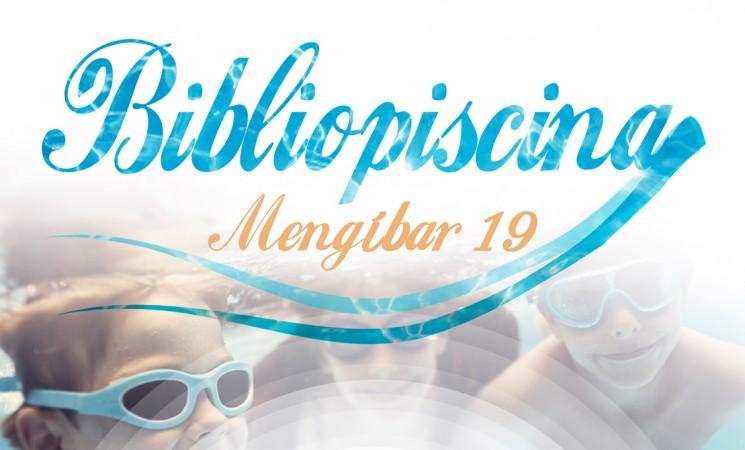 Regresa la Bibliopiscina a Mengíbar, a partir del 1 de julio, en la Piscina Municipal