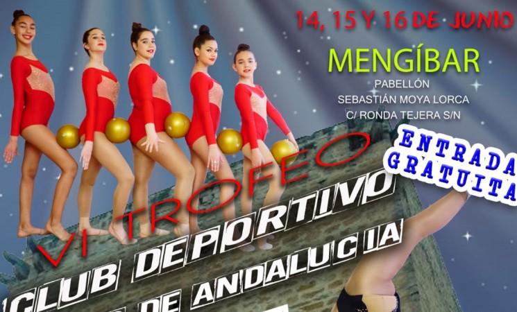 El VI Trofeo Club Deportivo Ritmo de Andalucía, este fin de semana en el Pabellón de Mengíbar
