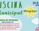 Horarios de la Piscina Municipal de Mengíbar y de los cursos de natación 2019