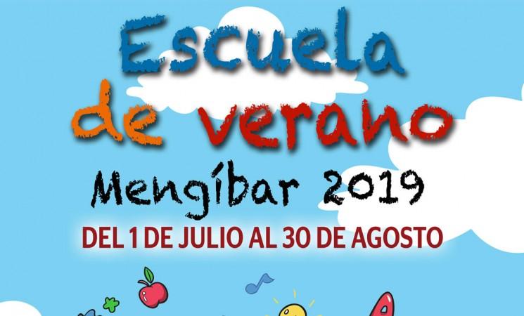 Las inscripciones para la Escuela de Verano de Mengíbar 2019, del 20 al 27 de junio