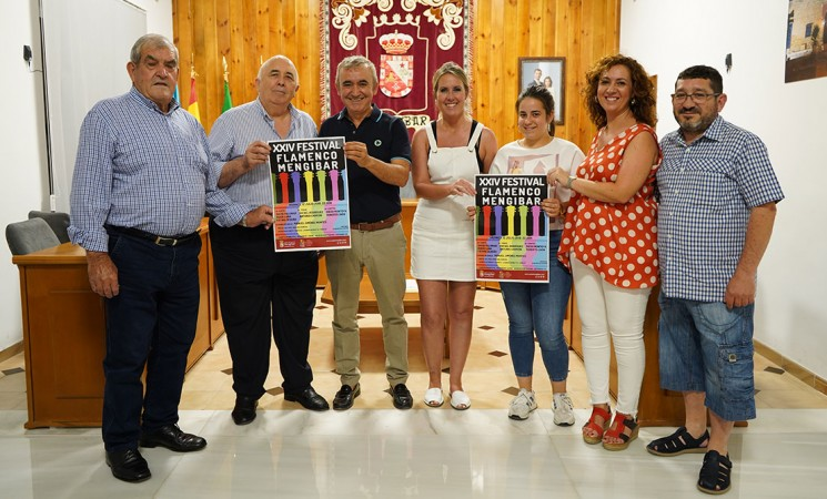 Presentación del cartel del XXIV Festival Flamenco Mengíbar