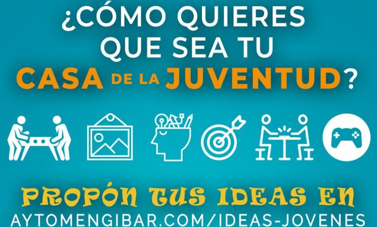 ¿Cómo quieres que sea la Casa de la Juventud de Mengíbar? ¡Propón tus ideas!