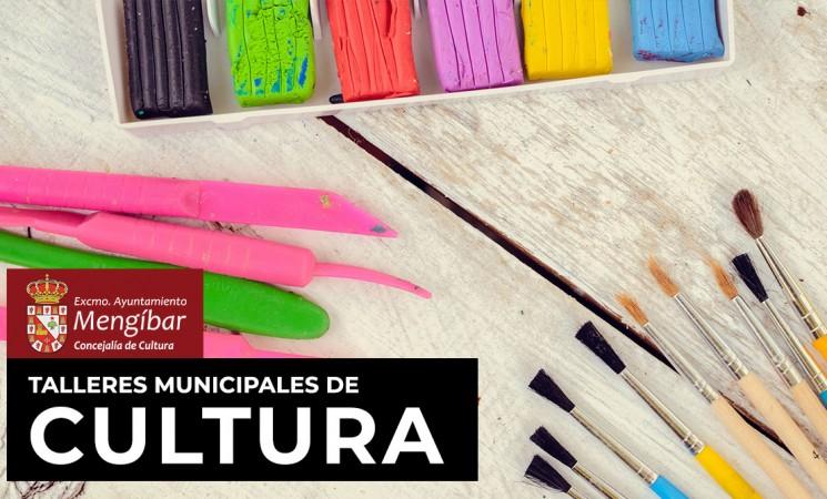 Abiertas las inscripciones de los nuevos Talleres Municipales de Cultura en Mengíbar para el curso 2020/2021