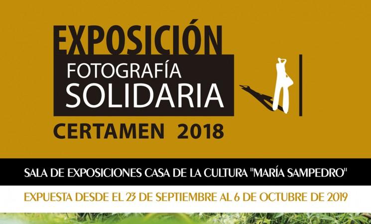 Exposición del Certamen de Fotografía Solidaria de Jaén en la Casa de la Cultura de Mengíbar