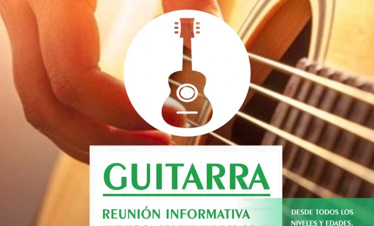 Taller Municipal de Guitarra en Mengíbar 2019/2020