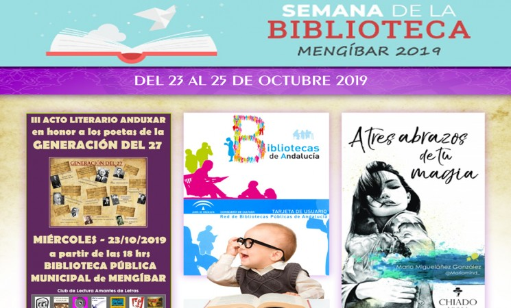 Actividades con motivo de la Semana de la Biblioteca 2019 en Mengíbar