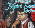 Exposición de Mari Saeta en la Casa de la Cultura de Mengíbar, del 15 al 31 de octubre de 2019