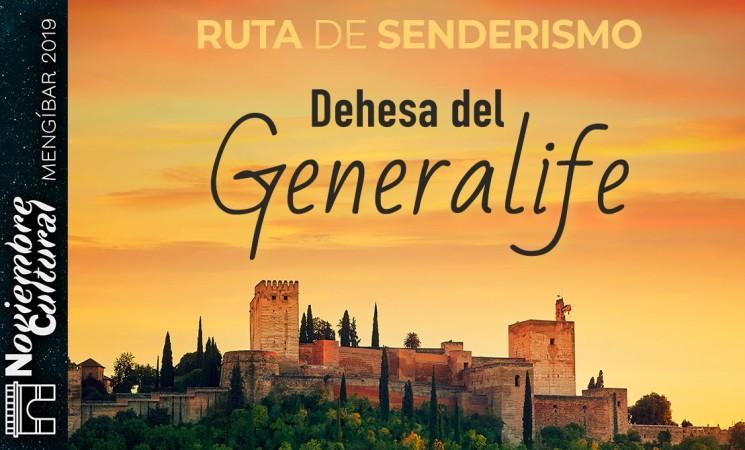 Ruta por la Dehesa del Generalife por el Noviembre Cultural Mengíbar 2019