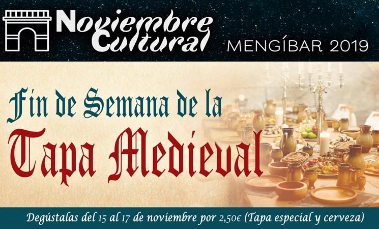 Tapas Medievales-Isabelinas en el Fin de Semana Medieval de Mengíbar