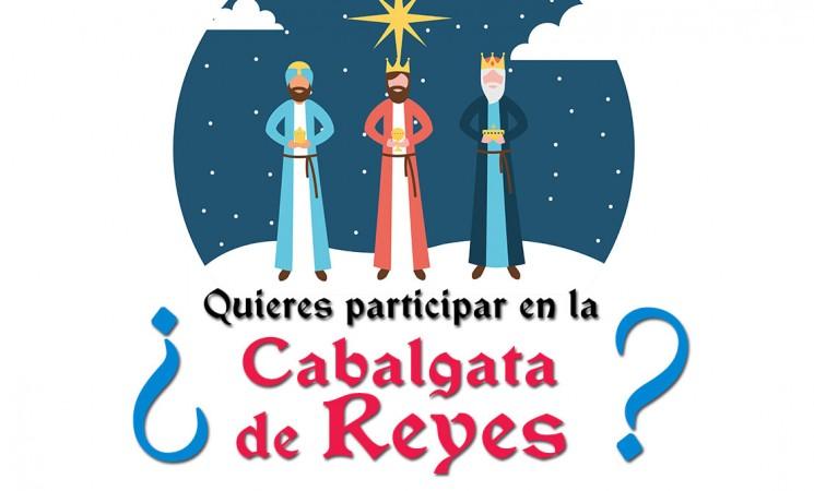¿Quieres participar en la Cabalgata de Reyes de Mengíbar 2020?