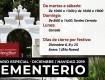 Horario del Cementerio Municipal de Mengíbar durante el mes de diciembre 2019 y fiestas navideñas