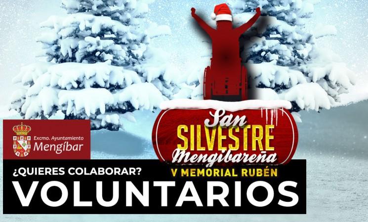 ¿Quieres ser voluntario de la San Silvestre Mengibareña - Memorial Rubén 2019? ¡Apúntante!