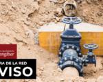 Corte de agua por avería en la calle Reina Sofía de Mengíbar este miércoles, 4 de marzo de 2020