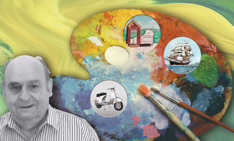 Nueva exposición de Juan Antonio Saeta Fernández en la Casa de la Cultura de Mengíbar