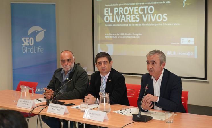 El encuentro de la Red de Municipios por los Olivares Vivos, celebrado en Mengíbar, reúne a un centenar de ayuntamientos