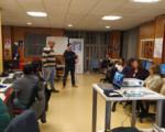 Empresarios y vecinos conocen la nueva Sede Electrónica del Ayuntamiento de Mengíbar