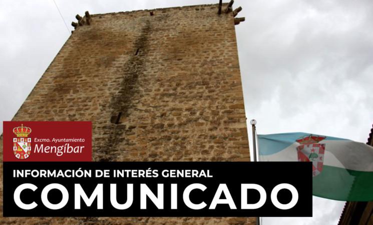 Coronavirus: Comunicado del Excmo. Ayuntamiento de Mengíbar sobre el COVID-19 (9 de marzo de 2020)