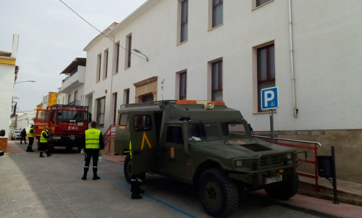 Coronavirus: La Unidad Militar de Emergencias (UME) llega a Mengíbar