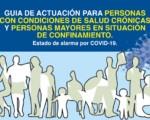 Coronavirus: Guía de actuación para personas con condiciones de salud crónicas y personas mayores en situación de confinamiento del Ministerio de Sanidad